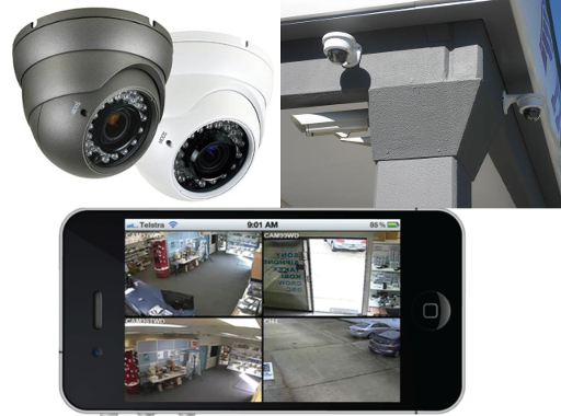 Security System CCTV Installation | Gold Coast